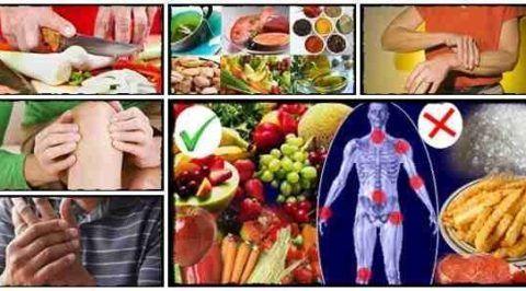 Питание при артрозе коленного сустава