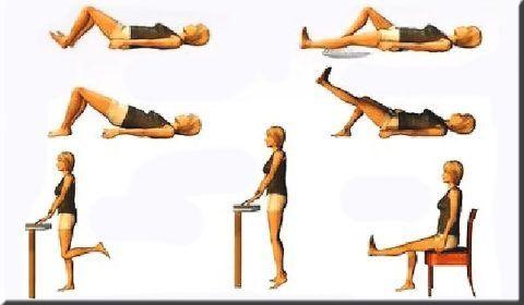 В комплексном лечении деформирующего артроза коленей с успехом используют ЛФК.