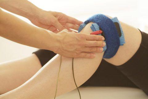 Физиопроцедуры при артрозе коленного сустава