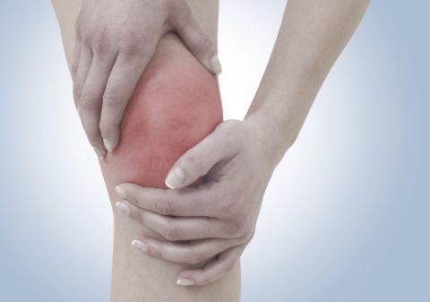 При реактивном артрите чаще всего поражается колено