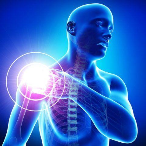Боль может возникнуть из-за сдавливания пучка нервов в суставе