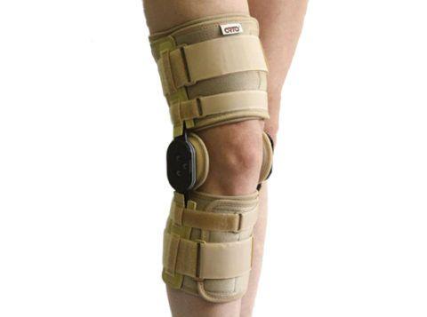 Брейсы можно использовать как наколенники от боли в суставах в реабилитационный период после операций и травм.