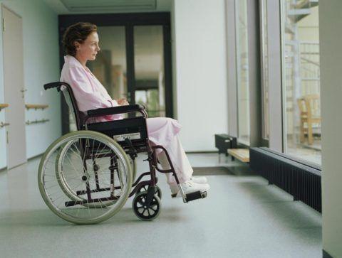 При переломах наиболее высока вероятность инвалидности