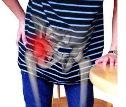 При поражении тазобедренных суставов человек начинает хромать