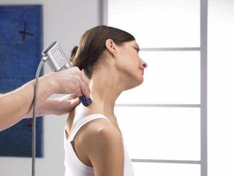 Применение ударно-волновой терапии в лечении патологии шейных позвонков