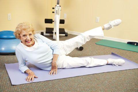 Упражнения, способствующие скорейшему восстановлению