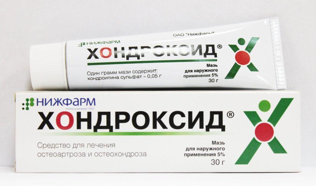 Мази для лечения суставов с хондроитином используют при артрозах