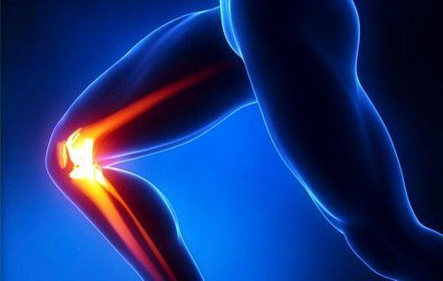 Рентгеновский снимок здорового коленного сустава