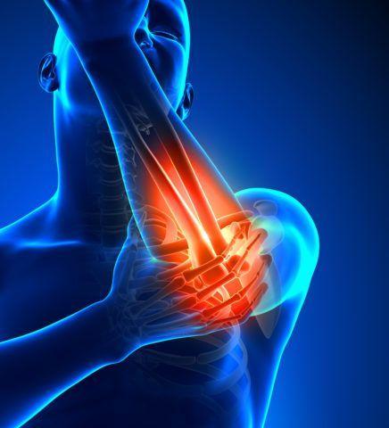 От чего болит локоть при надавливании?