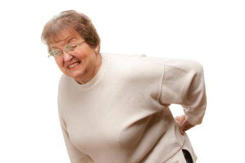 Для остеохондроза характерны боли в спине