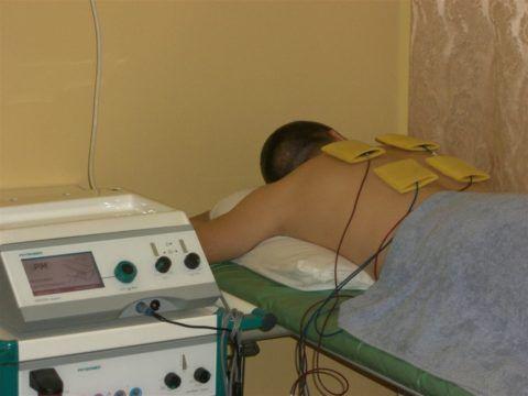 Физиотерапия осуществляется в условиях поликлиники