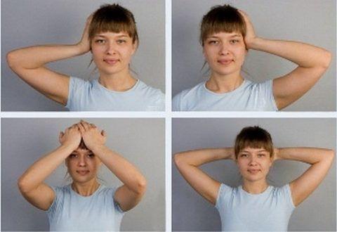 Изометрические напряжения – основа ЛФК-упражнений для шеи