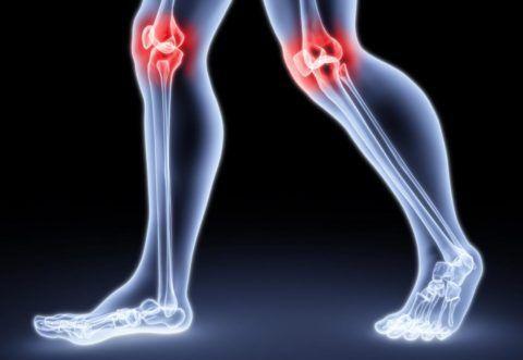 Коленные суставы ежедневно подвергаются высоким нагрузкам