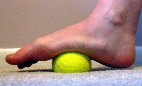 ЛФК может проводиться с мячом