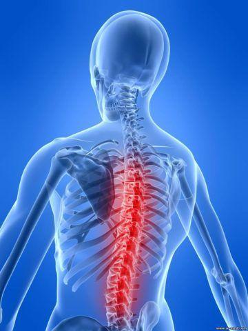 Любые неполадки в области позвоночника сопровождаются болью