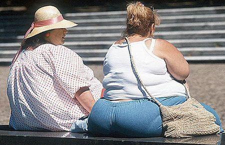 Масса тела давит на голеностопные суставы и приводит к их разрушению
