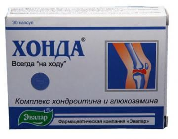 Препарат «Хонда» для лечения суставов: формы выпуска, способы применения, противопоказания, взаимодействие с другими лекарствами