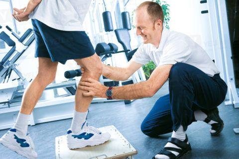 Реабилитация пациента требует контроля специалиста.