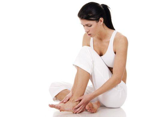 Дискомфорт в области нижней конечности или стопы встречается часто