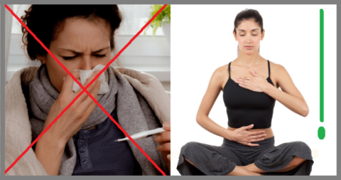 Дыхательные упражнения во время болезни уберегут от застойной пневмонии и запоров