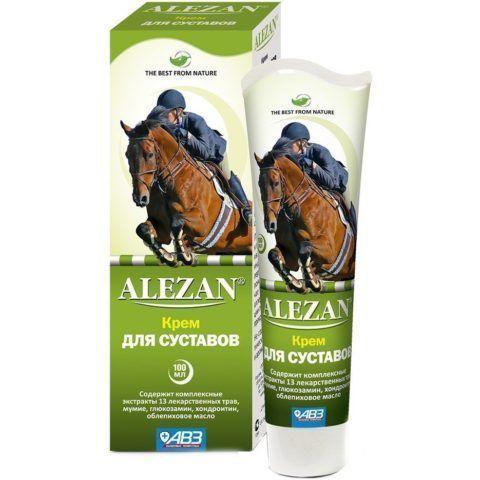 Крем «Алезан» поможет снять отек и воспаление суставов.
