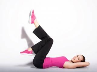 Базовое положение бёдер для дополнительного блока упражнений на спине при гонартрозе