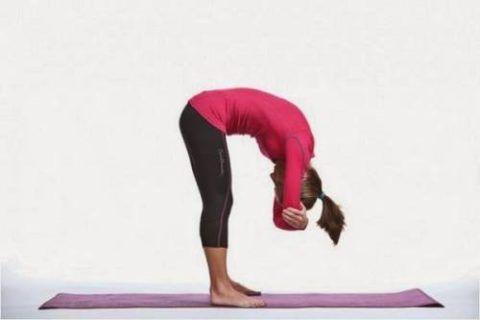 Это упражнение делайте перед движениями «Сдувающийся шарик»
