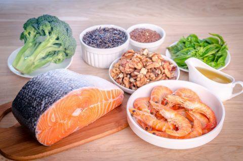 Капсулы можно заменять блюдами из рыбы.