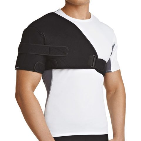 На фото ортез для плеча с ограничением отведения