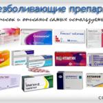 Ненаркотические обезболивающие препараты