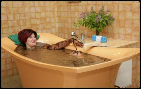 Сероводородные ванны на минеральной воде