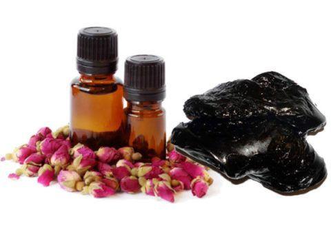 Средство из розового масла и мумие обладает хорошими болеутоляющими и противоотечными свойствами.