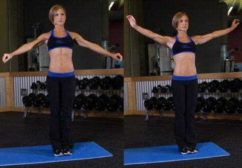 Вращение в плечевом суставе улучшит его функциональность.