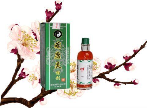 Китайский бальзам «Дымок» (на фото) обезболит и снимет воспаление с больных сочленений.