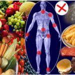 Коррекция питания – важная составляющая при лечении артрозов