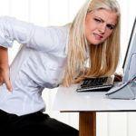 На второй стадии может ломить спину при длительной работе за компьютером