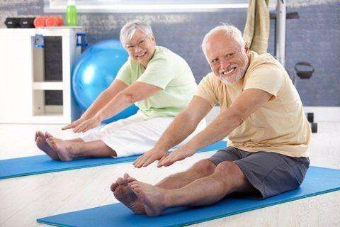 Физическая активность полезна и для детей, и для стариков
