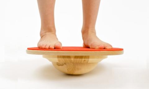 Тренажёр Balance Board «включит функцию самосохранения» голеностопных суставов