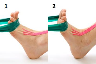 Упражнение для сгибателей стопы