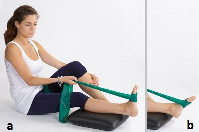 Упражнение с жёсткой лентой