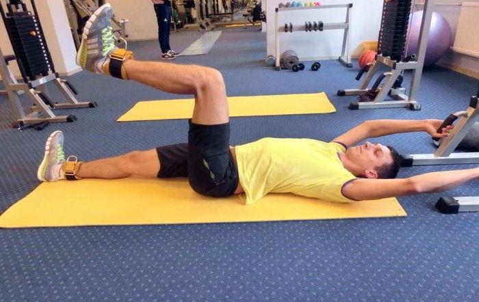 Базовые гимнастические упражнения при артрозе тазобедренного сустава