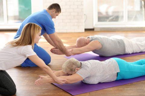 Лечебная гимнастика важна на этапе восстановления