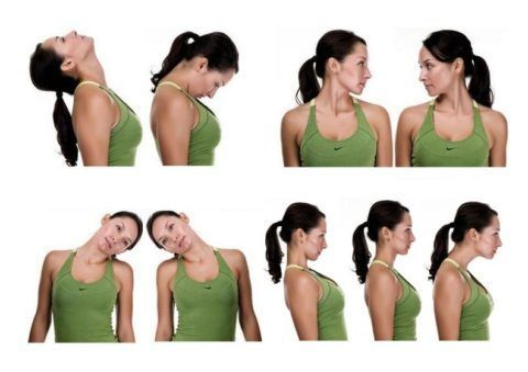 Лечебные упражнения при артрозе шейных позвонков