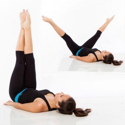 Напряжение мышц бедра