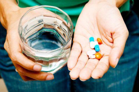 Основная задача медикаментов – снять боль, облегчить состояние