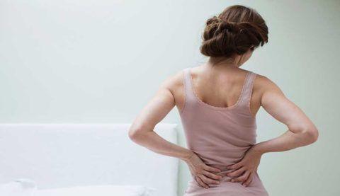 Приступ поясничного остеохондроза