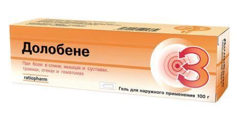 Мази и гели при суставной боли