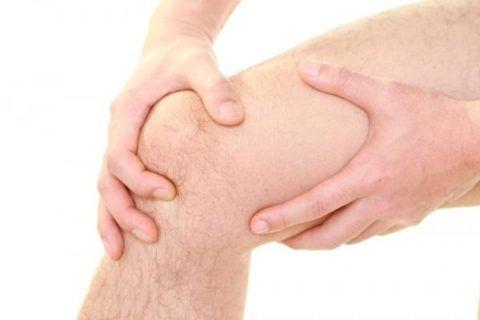 На фото инфекционный артрит