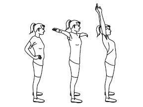 Подъем рук над головой возвратит сочленению былую функциональность.