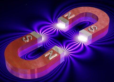 Целебные свойства двухполюсного магнита